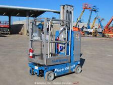 2013 Genie GR-20 20' Electric Vertical Mast Lift Personnel Man Stock bidadoo