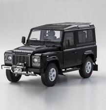 KYOSHO 1/18 Land Rover Defender 90 Diecast Model Car Black (08901BK)