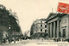 Carte PARIS La rue du Faubourg St Honoré