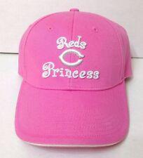 Women & Teen Girl CINCINNATI REDS PRINCESS HAT Pink White Sparkle Silver NEW ERA
