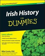 Irish History for Dummies by Mike Cronin (2011, Paperback)