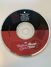 1993 January Apple Developer CD Series The Postman Always Clicks Twice