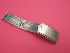 ANTIQUE ROLEX SOLID STEEL DEPLOYMENT CLASP BUCKLE FOR JUBILEE BAND BRACELET WORN