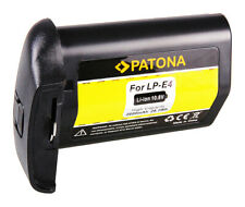 Batteria Patona 11,1V 2600mAh per Canon EOS 1D Mark III,EOS 1Ds Mark III