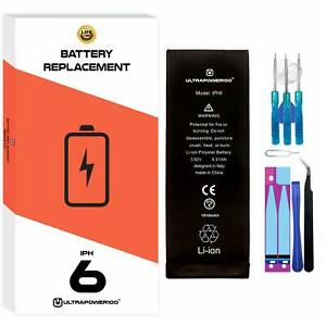 ORIGINAL ultrapower100® REPLACEMENT BATTERY for APPLE iPhone 6 1810 mAh + Tools