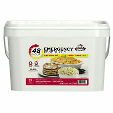 Emergency Food Supply 4 Person Kit 55 Serving Storage Survival Bucket Quick Meal