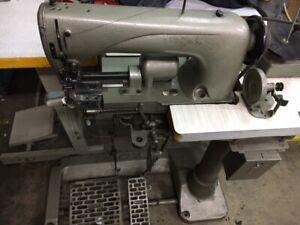 RARE HEAVY INDUSTRIAL HEMMING SEWING MACHINE