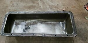 Massey Harris 33 tractor Orignl MH engine motor oil pan w/ drain plug