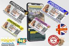 More details for assistance dog uk law card with qr code to the equality act