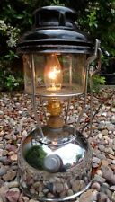 Upcycled Vintage Tilley Lamp Chrome Light Steampunk Mains Electric