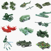 1pc Military Truck Gun Weapon Model Army Toy Soldier Model Accessory Xmas Gift