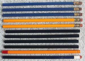 "11 Vtg Unused Pencils: Musgrave ""U.S. Navy"" & ""Select"", Reliance ""Magnolia"""