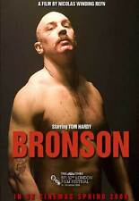 BRONSON Movie POSTER 27x40 UK B Tom Hardy Matt King