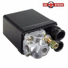 Heavy Duty Air Compressor Pressure Control Switch Valve 175PSI 12 Bar 20A 4 Port
