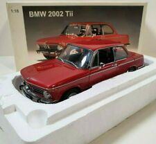 AUTOart 1:18 BMW 2002 TII Red / rouge Réf 70501 Très rare
