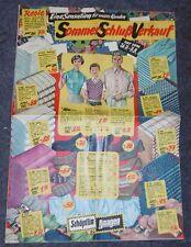 versandhaus katalog heft sommer schluss verkauf alt mode schöpflin haagen 1954