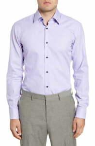 BNWT Hugo Boss Jano Slim Fit Cotton Dress Shirt Size 15 MSRP $128!!!