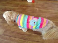 """New listing dog sweater,multi-color, """"caterpillar comfy"""", warm, Medium *(read size details)"""