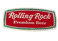 Rolling Rock Premium Beer Embroidered Jacket Patch  9 1/2 in Large NEW