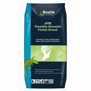 Bostik J115 Flexible and Smoot Finish Wall and Floor Grout 5KG