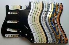 Stratocaster SSS FLOYD ROSE 11 hole Pickguard: many colours: US/MiM/MiJ/Blank