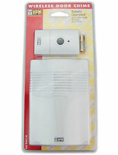 HPM Battery Operated Wireless Door Chime Up to 30 metres Range D641/B