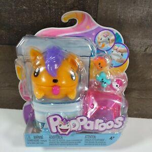 NEW Mattel Pooparoos Toilet Swirl & Reveal Monster Eats & Poops 3 Foods