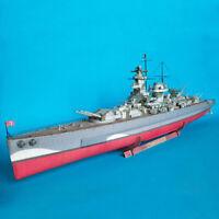 93cm German Battleship Grafspe Emulational DIY 3D Paper Card Model ToH2 U_X