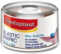 Elastoplast Fabric Plaster - 2. 5cm x 3m Roll Elastic Tape Support Strip
