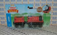 Thomas Friends Wood Wooden JAMES Train FULLY PAINTED Fisher Price GGG62 *2019*