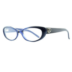 Gucci GG 3515 WOI Blue / Violet Cat Eye Optical Frames Eyeglasses