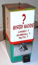 10 cent 70's MYSTERY MACHINE Gumball Vending Gum Ball, Peanut, Candy, Garage