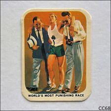 Vita-Brits VII Commonwealth Games Perth #5 Cardiff 1962 Cereal Card (B) (CC68)