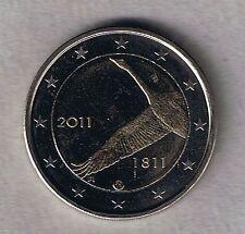 Münzen aus Finnland mit Bi-Metall für Bankwesen