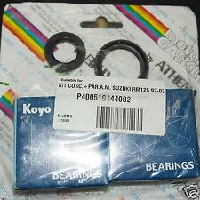 Serie Set KOYO Rodamientos + Sellos de aceite Banco Cigüeñal Suzuki RM 125 02-08
