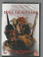 DOLL GRAVEYARD - REBORN FOR REVENGE - Charles Band - UK DVD - sealed/new