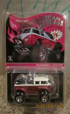 Hot Wheels RLC Volkswagen T1 Rockster VW Bus Transporter Pink Convention