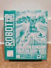 Robot Spirits Side Ms Unicorn Gundam Crystal Body Ver Action Figure Bandai