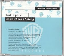 Linkin Park Maxi CD Somewhere I Belong - Promo - Europe (EX+/EX+)