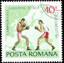 Scott # 2100 - 1969 - ' Two Boxers & Map of Europe '