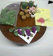 1:12 Dollhouse Miniature Flower Lot