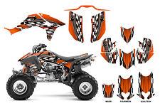 TRX 450R graphics for Honda 450R ATV sticker kit #2500 orange