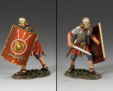 King and country romanos-lucha con espada (empujando) ROM017 Metal Pintada