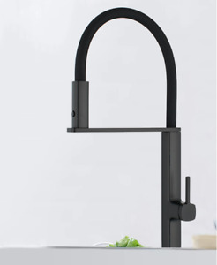 Black Or ChromeTwo Functions Spring Kitchen Sink Brass Faucet Swirl Mixer Tap