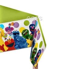 Sesame Street Plastic Party Table Cover