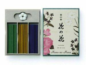 Nippon Kodo |Japanese Incense Sticks | Hana no Hana | 30 Sticks With Holder