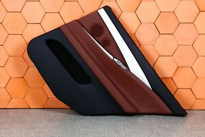 BMW F07 GT REAR RIGHT DOOR CARD PANEL TRIM BACKLIGHT LEATHER ZIMTBRAUN