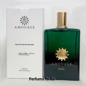 AMOUAGE EPIC MAN 3.4 oz (100 ml) Eau de Parfum EDP Spray NEW TESTER