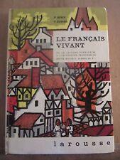 Boyer & Durand: Le Français vivant CM 2/ Larousse, 1964, Specimen