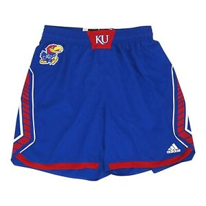 Kansas Jayhawks NCAA Adidas Women's Blue Uniform Shorts